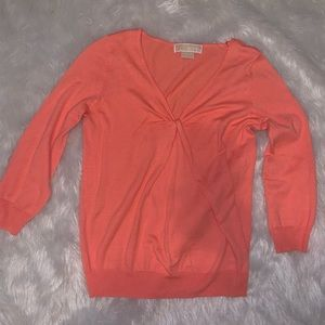 Orange lightweight sweater xs Michael Kors